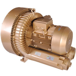 IE3 IP55 PTC 11kW Double Stage Air Regenerative Blower for Cental Vacuum System